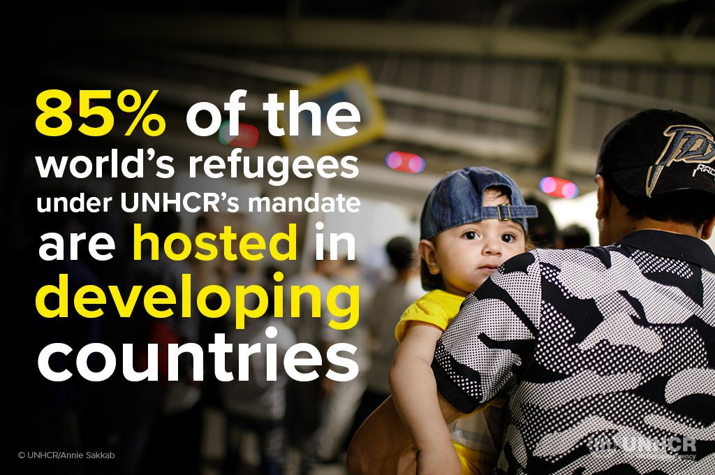There is a single global refugee crisis and developing countries are rising to the occasion to extend a helping hand.