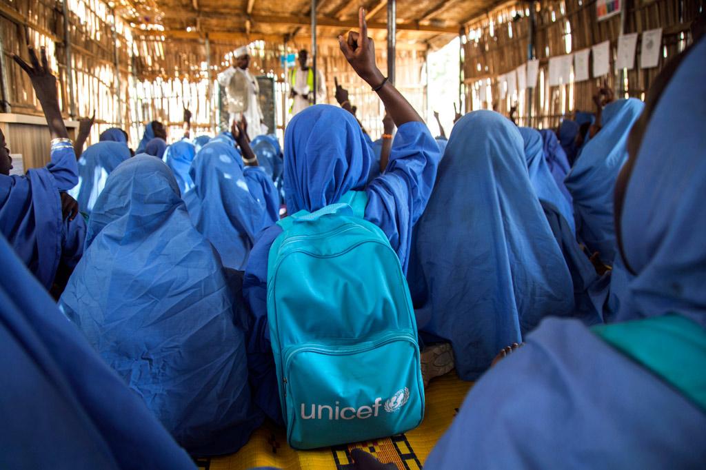 Des millions d 39 enfants r fugi s ne vont pas l 39 cole - Office des migrations internationales ...