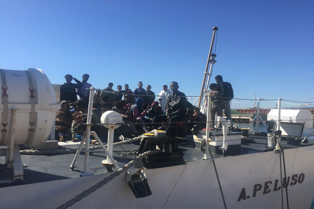 A rome ban ki moon appelle aider l 39 italie face la - Office des migrations internationales ...