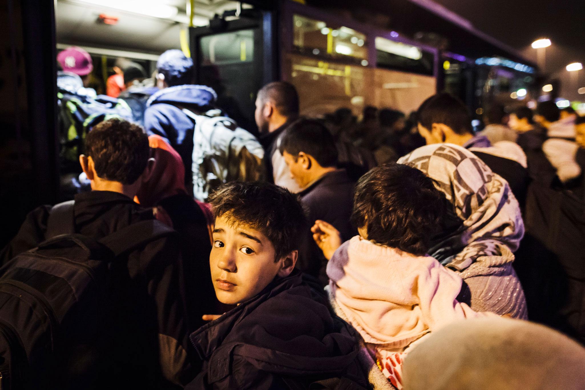 Migrants et r fugi s l 39 onu appelle les gouvernements - Office des migrations internationales ...