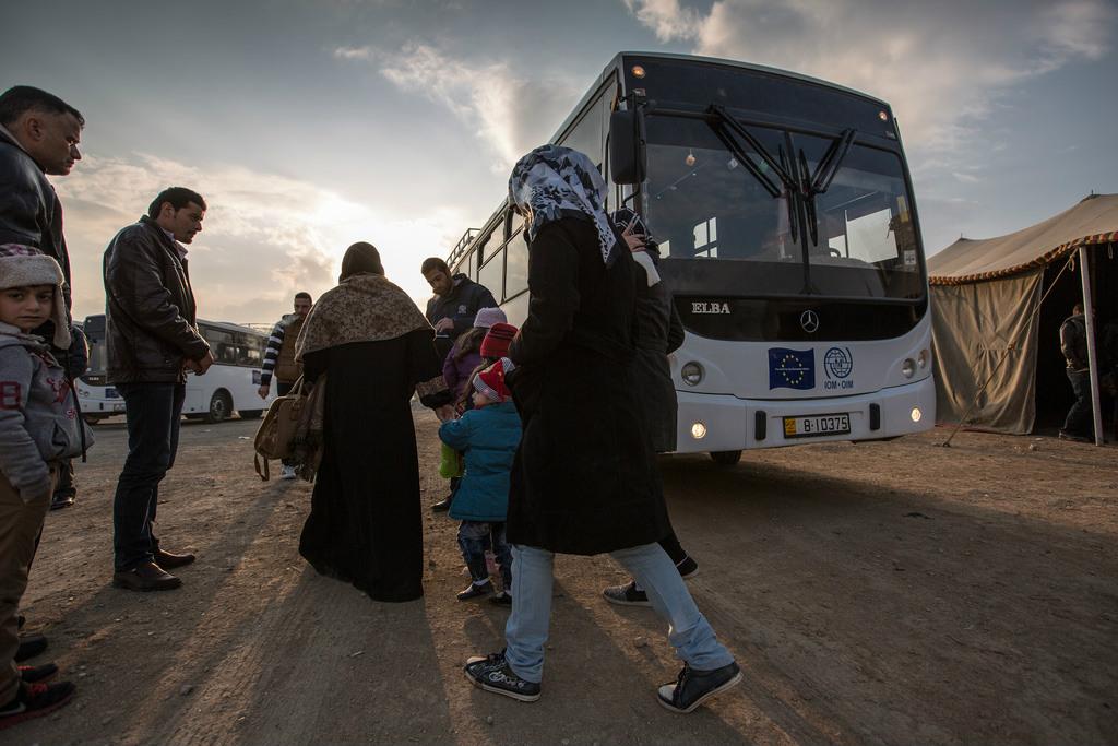 La solidarit avec les migrants est une question d 39 urgence - Office des migrations internationales ...
