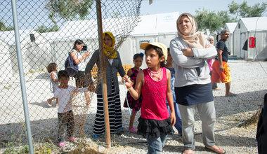 مخيم كارا تيبي للاجئين في جزيرة ليسبوس اليونانية. المصدر: الأمم المتحدة / ريك باجورناس