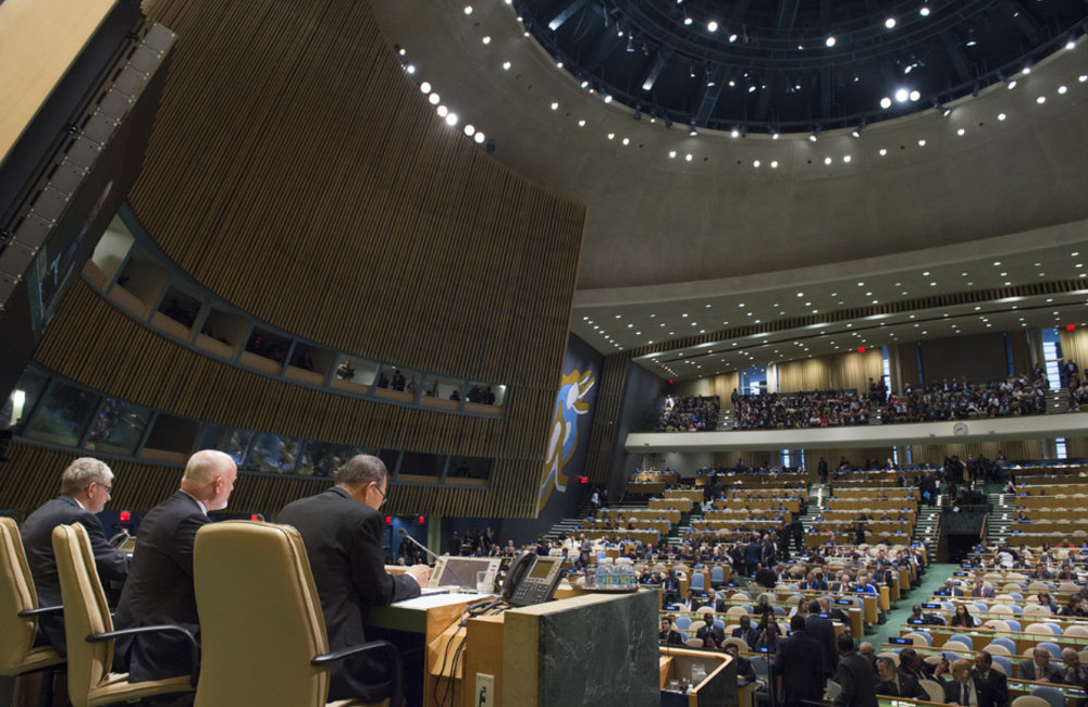 Opening of the UN Summit for Refugees and Migrants