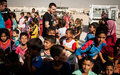 In Iraq, UNICEF Ambassador Ewan McGregor urges help for children 'ripped from their homes'