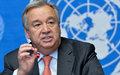 الأمين العام يؤكد ضرورة أن تقود الأمم المتحدة الطفرة الدبلوماسية من أجل السلام