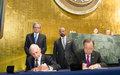 L'Organisation internationale pour les migrations rejoint officiellement le système de l'ONU