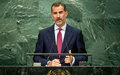 King of Spain stresses support for 2030 Agenda, climate change action at UN Assembly