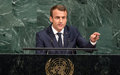 At General Assembly, France urges return to optimism, values that underpinned UN's founding
