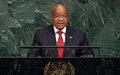 Pour l'Afrique du Sud, le continent africain peut et doit trouver ses propres solutions à ses défis