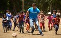 UNICEF Goodwill Ambassador Ricky Martin traveled to Lebanon to meet refugee children who have fled Syria conflict