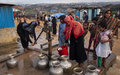 UNICEF warns of contaminated drinking water in camps for Rohingya refugees