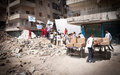 En los últimos dos meses no ha llegado la asistencia humanitaria a las zonas asediadas de Siria, señala Guterres