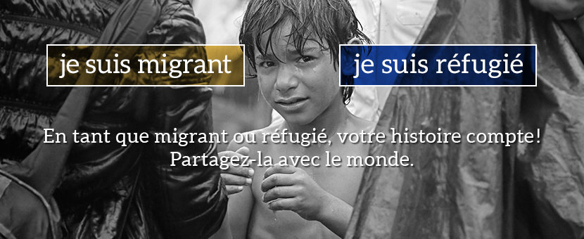 i am a migrant * i am a refugee est une campagne et une plateforme.  Nous créons un endroit pour partager les histoires personnelles des réfugiés et des migrants. Nous voulons nous élever contre les stéréotypes anti-réfugiés et anti-migrants et contre le discours haineux en politique et dans la société. En tant que réfugié ou migrant, votre histoire est importante! Partageons-la avec le monde.